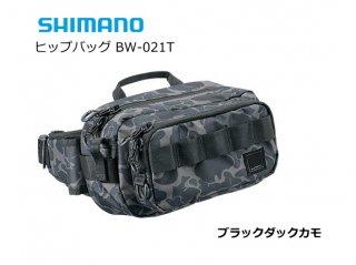 シマノ ヒップバッグ BW-021T ブラックダックカモ Sサイズ (O01) (S01) 【本店特別価格】
