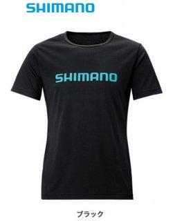 【セール】 シマノ Tシャツ (半袖) SH-096T ブラック Mサイズ