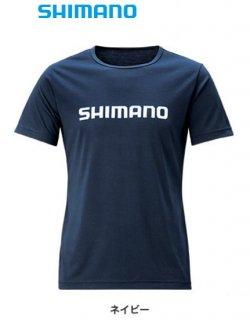 【セール】 シマノ Tシャツ (半袖) SH-096T ネイビー Mサイズ