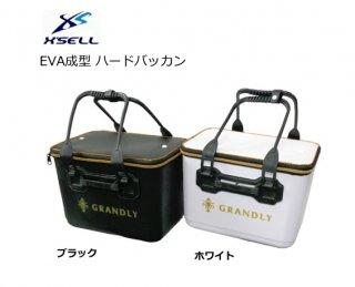 エクセル EVA成型 ハードバッカン GS-2026 ブラック 36cm 【本店特別価格】