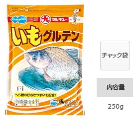 マルキュー いもグルテン 1箱(30袋入り) (表示金額+送料別途) (お取り寄せ商品) 【本店特別価格】