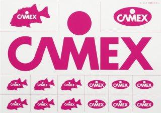 釣武者 キャメックス CAMEX 転写ステッカー (O01) (メール便可) 【本店特別価格】