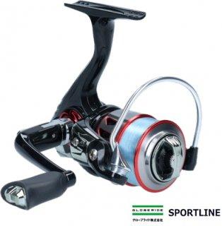 グローブライド スポーツライン MS ブイマックス (V-MAX) 2004DX (4lbナイロンライン100m付き) / スピニングリール 【本店特別価格】