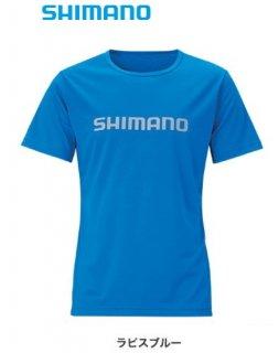 【セール】 シマノ Tシャツ (半袖) SH-096T ラピスブルー Mサイズ