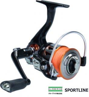 グローブライド スポーツライン MS ブイマックス (V-MAX) 2508DX (0.8号PEライン120m付き) / スピニングリール 【本店特別価格】