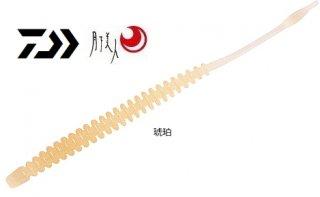 ダイワ 月下美人 アジングビーム 3.5インチ #琥珀 / ルアー ワーム (O01) (メール便可) 【本店特別価格】