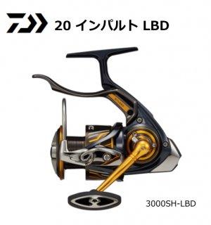 ダイワ 20 インパルト 3000SH-LBD / レバーブレーキ付リール (送料無料) 【本店特別価格】