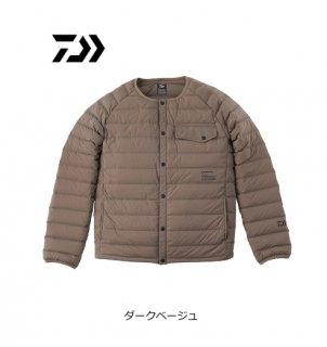 ダイワ ライトインナーストレッチダウンジャケット DJ-2620 ダークベージュ Lサイズ / 防寒着 (送料無料) (D01) (O01)