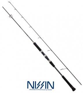 宇崎日新 (NISSIN) ARES アレス ブラックジャガー GVX S601/2 / ジギングロッド (お取り寄せ)