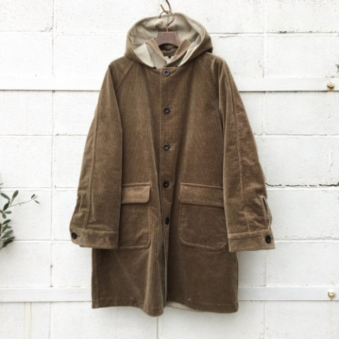 "ID DAILYWEAR ""Fat Cords Reversible Coat"""
