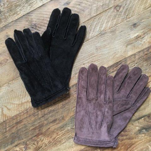 "Anachronorm x ISLAND KNIT WORKS ""Suede Glove"""