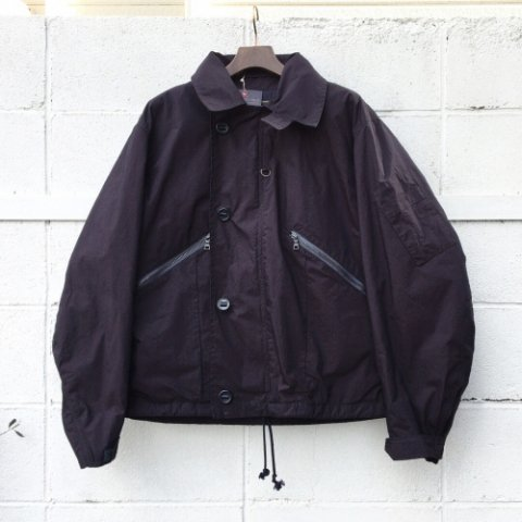 "Anachronorm ""Indigo Typewriter Flight Jacket"""