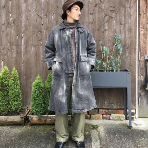 "Anachronorm ""Damaged Twill Cowboy Coat"""