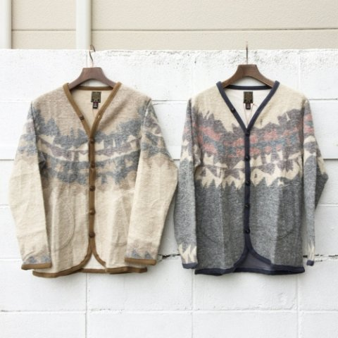"Gypsy&sons ""Wool Tum Pouring Dyed Cardy"""