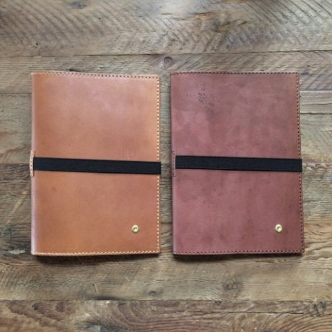 "BrownBrown ""Lather A5 Notebook Cover"""