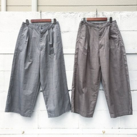 "SETTO ""DWP Wide Tuck Pants"""