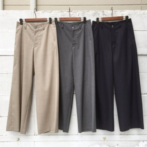 "PULETTE ""Summer Wool Wide Pants"""