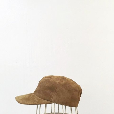 "BrownBrown ""Suede Cap"""
