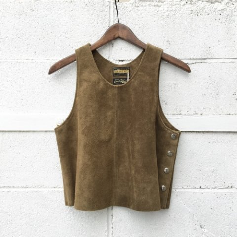 "RUMBLE RED ""Side Button Vest"""