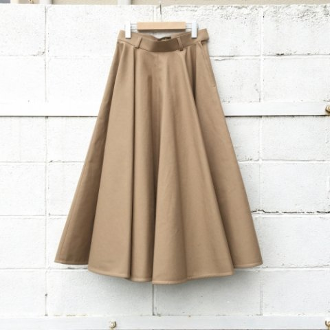 "RUMBLE RED ""Waving Flared Military Skirts"""