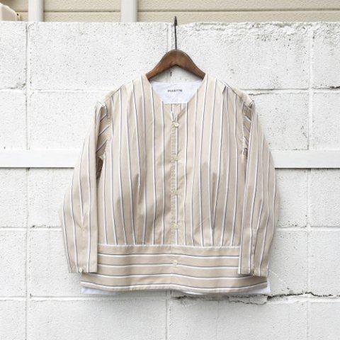 "PULETTE ""V Neck Shirt"""