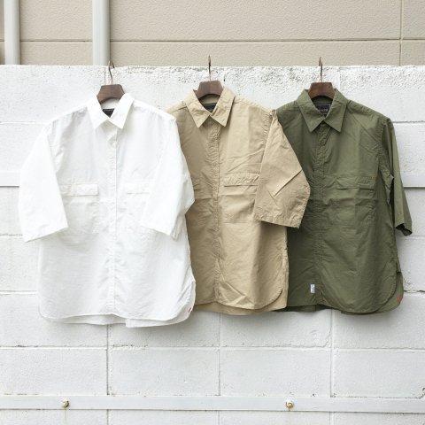 "Anachronorm ""Ring Snap 1/2 Sleeve Shirt"""