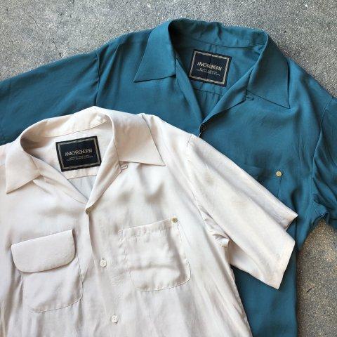 "Anachronorm""Rayon Open Collar Shirt"""