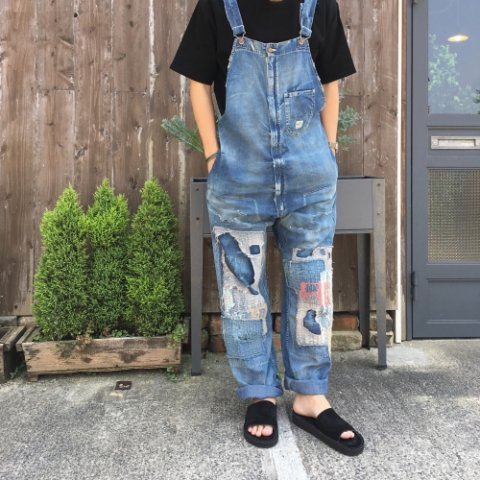 "Anachronorm ""8oz Denim Tapered Overall (remake wash)"""