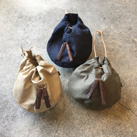 "BrownBrown ""Tassel Purse Bag"""