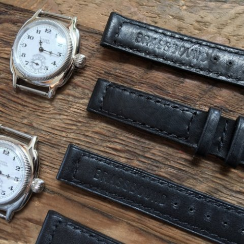 "VAGUE WATCH Co. ""BRASSBOUND Belt Coussin"" ※TRIBECAカスタム別注仕様"