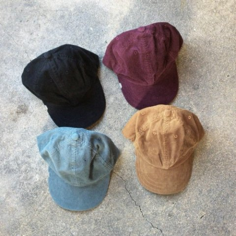 "Anachronorm ""Corduroy Leather Buckle Cap"""