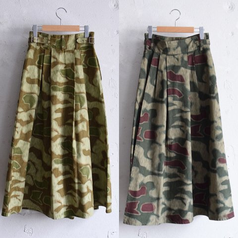 "RUMBLE RED  ""GM Camouflage Gurkha Skirts"""