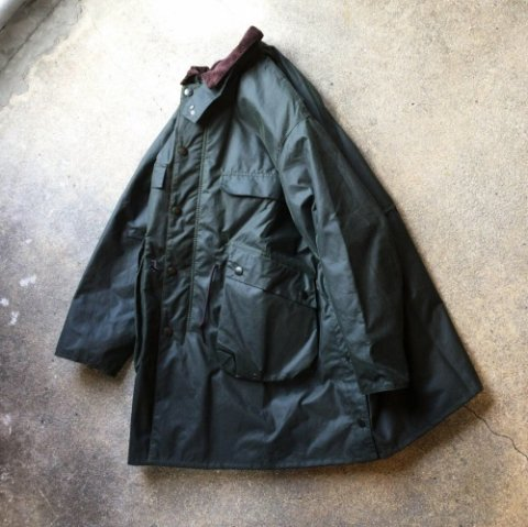 "KAPTAIN SUNSHINE ""Stand Collar Traveller Coat"""
