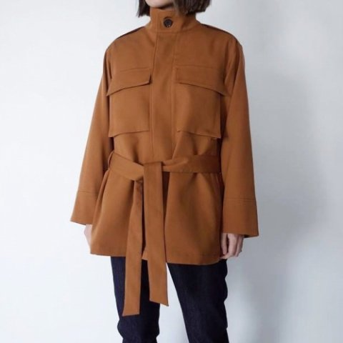 "PULETTE ""Wool Twill Field Jacket"""
