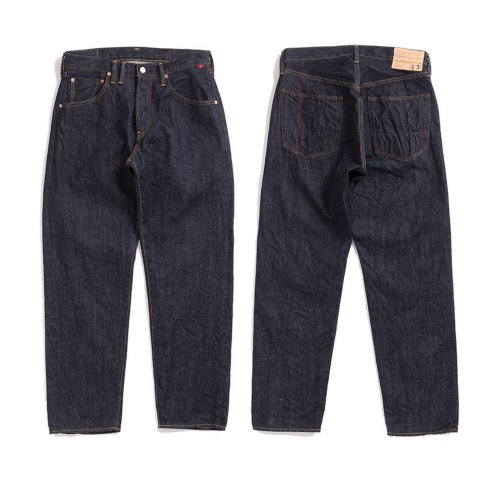 "Anachronorm ""TYPE-α Basic Tapered Jeans"""