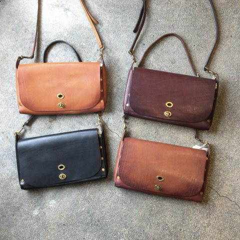 "vasco ""Leather 3ways Saddle Bag"""