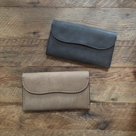 "BrownBrown ""Cafu Middle Wallet"""