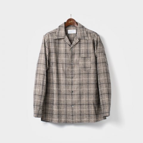 "ORGUEIL ""Open Collared Shirt"""