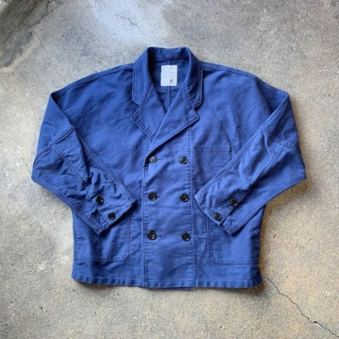 "H.UNIT STORE LABEL ""Moleskin Dolman Euro Work Jacket"""