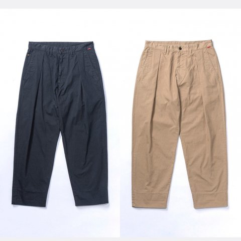 "Anachronorm ""Standard Wide Tuck Trousers"""