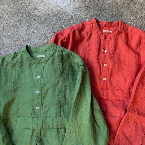 """Gypsy&sons """"Linen Seeting Bosom Shirts"""""""