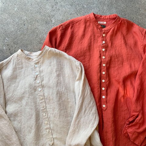 "Gypsy&sons ""Linen Seeting Button Shirts"""