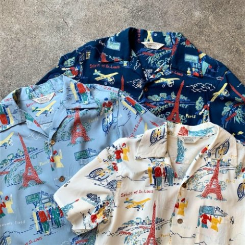 "ORGUEIL ""Open Collared Aloha Shirt"""