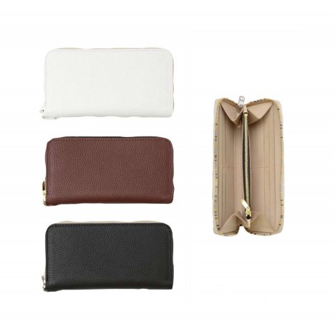 "VOO ""LEATHER WALLET by BRASSBOUND"""