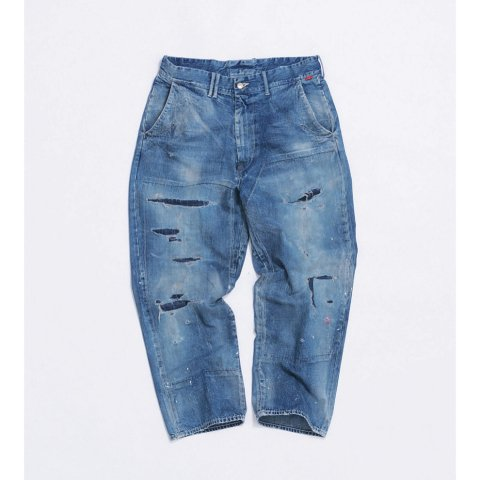 "ANACHRONORM""DENIM WIDE TROUSERS (Remake Wash)"""