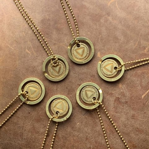 "ANACHRONORM ""TRIBECA10th別注 AN Charm Necklace"""