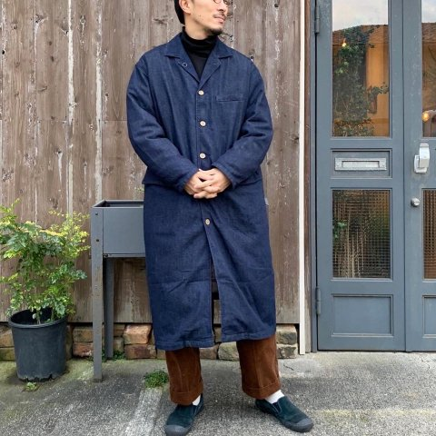 "ANACHRONORM ""OW DENIM ENGINEER COAT"""