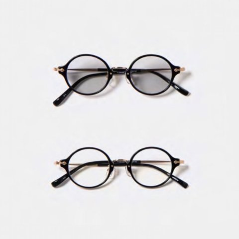 "ORGUEIL ""Combi Celluloid Glasses (BLK)"""
