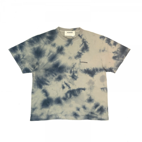 "Anachronorm ""PIGMENT TIE DYE T-SHIRT TOP GRAY"""
