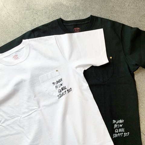 "ANACHRONORM ""TRIBECA10th別注 STENCIL HEAVY WEIGHT T-S"""